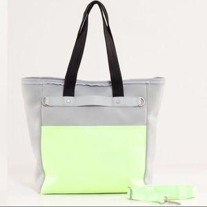 Lululemon Urban Oasis Tote Grey Shoulder Bag